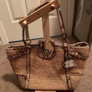 Very unique coach purse